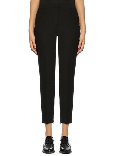 Beymen Collection Dar Paça Kısa Pantolon Siyah